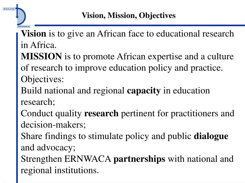 vison mission and objectives for yum