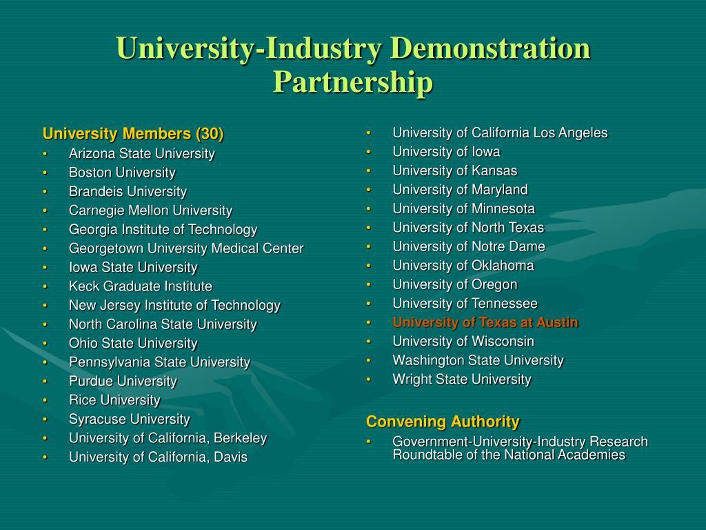 University Members (30)