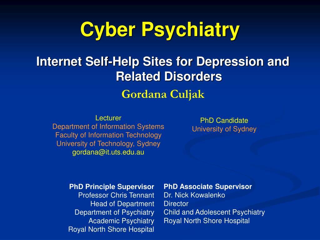 cyber psychiatry l.