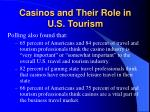 casinos and their role in u s tourism