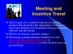 meeting and incentive travel