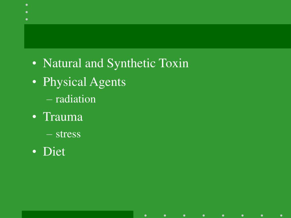 Natural and Synthetic Toxin