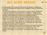 gli acidi grassi28