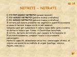 nitriti nitrati