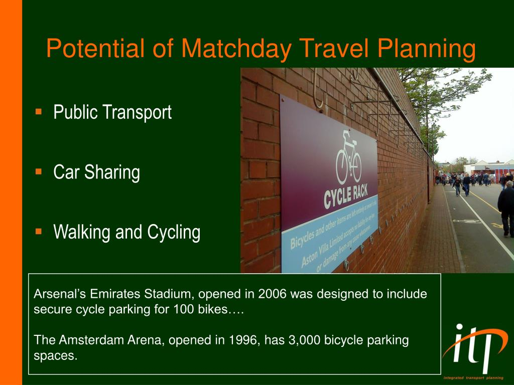 Potential of Matchday Travel Planning
