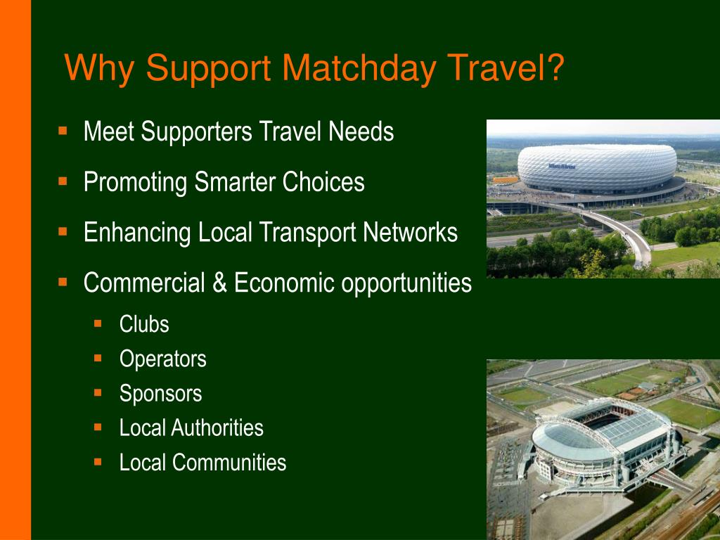 Why Support Matchday Travel?