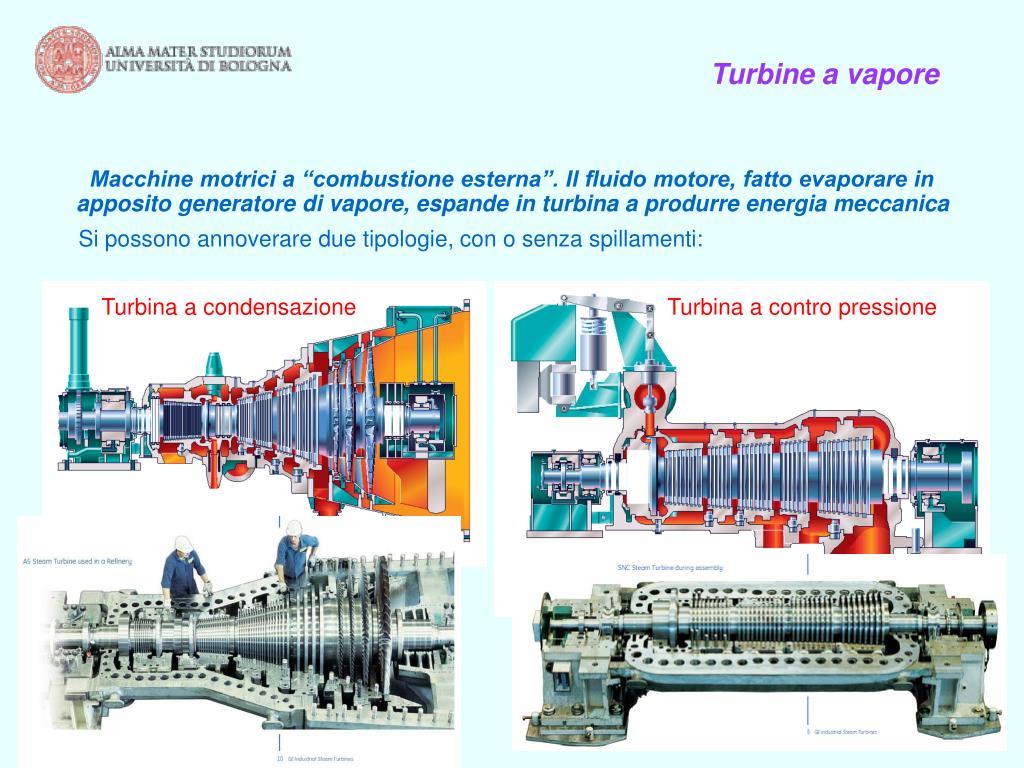 Turbine a vapore