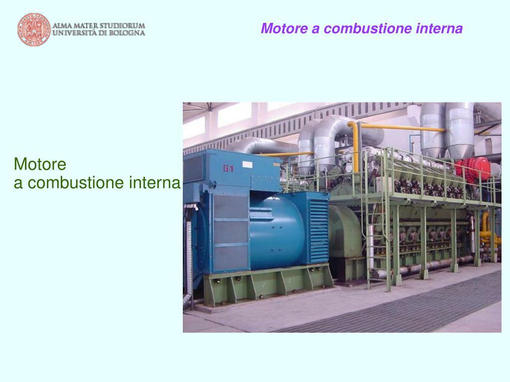 Motore a combustione interna