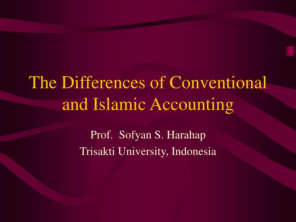 the differences of conventional and islamic accounting