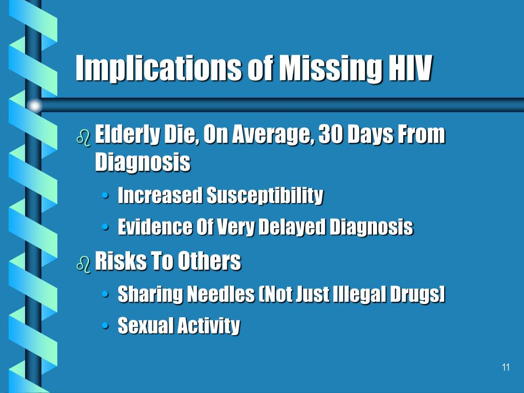 Implications of Missing HIV