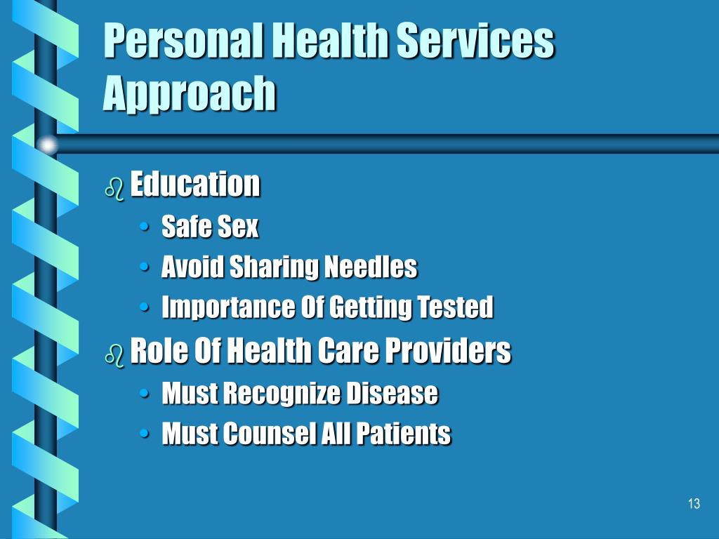 Personal Health Services Approach