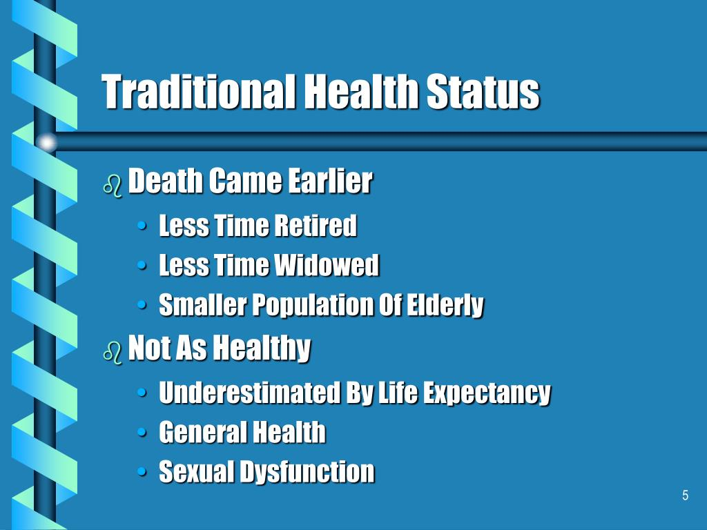 Traditional Health Status
