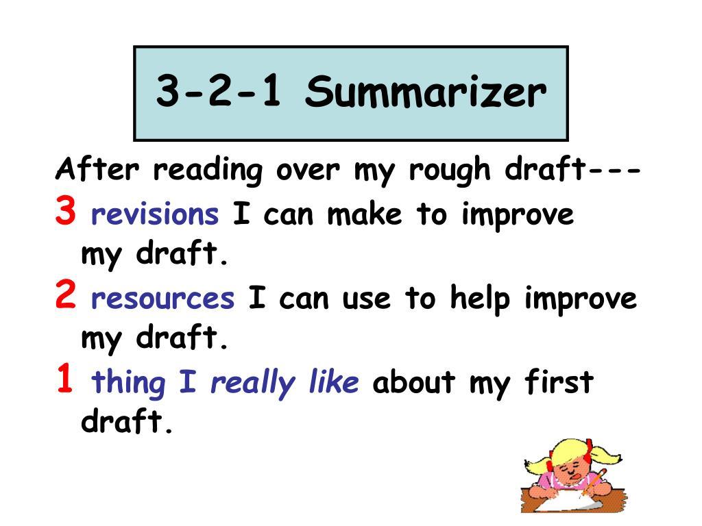 3-2-1 Summarizer
