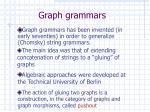 graph grammars