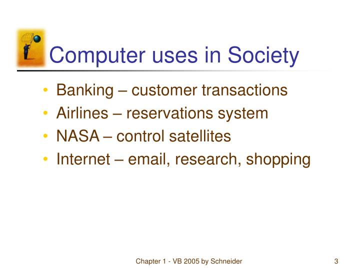 Computer uses in society