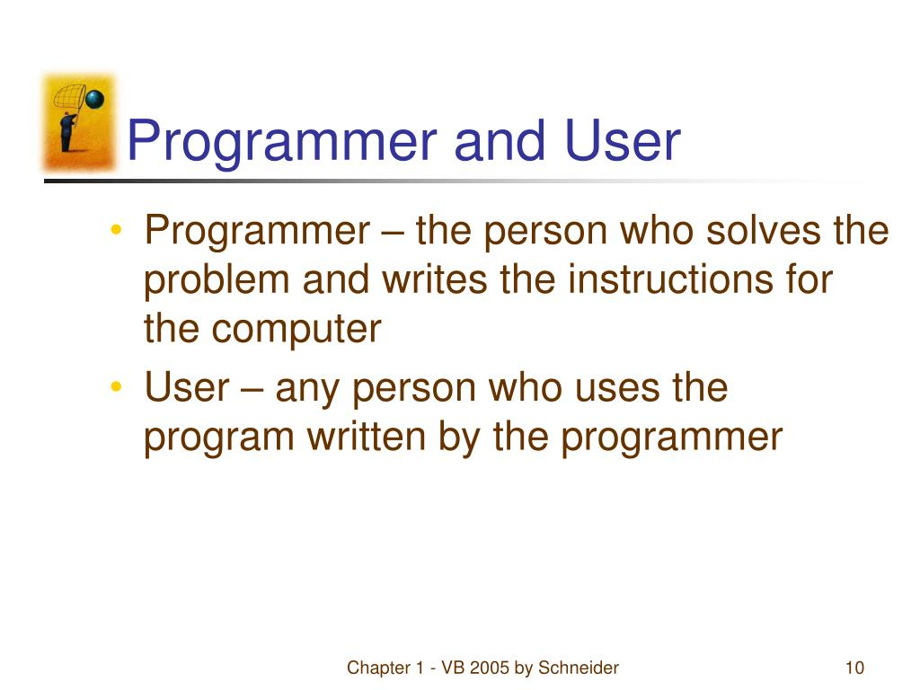 Programmer and User