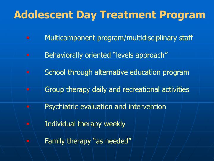 Adolescent Day Treatment Program