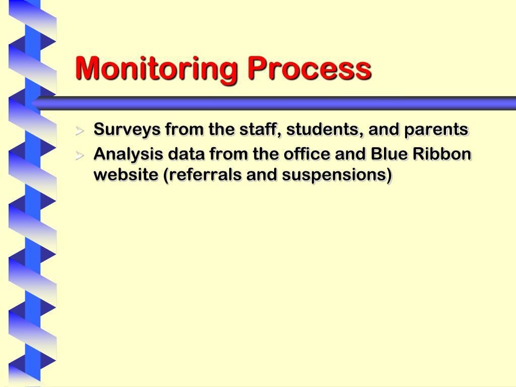 Monitoring Process