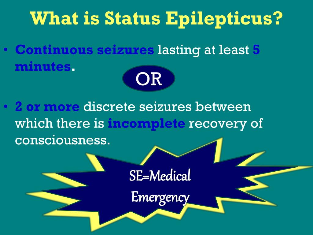 What is Status Epilepticus?