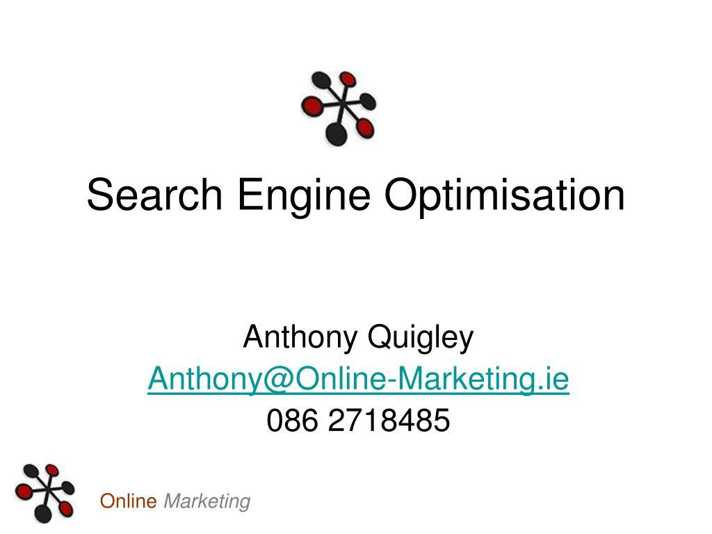 search engine optimisation l.