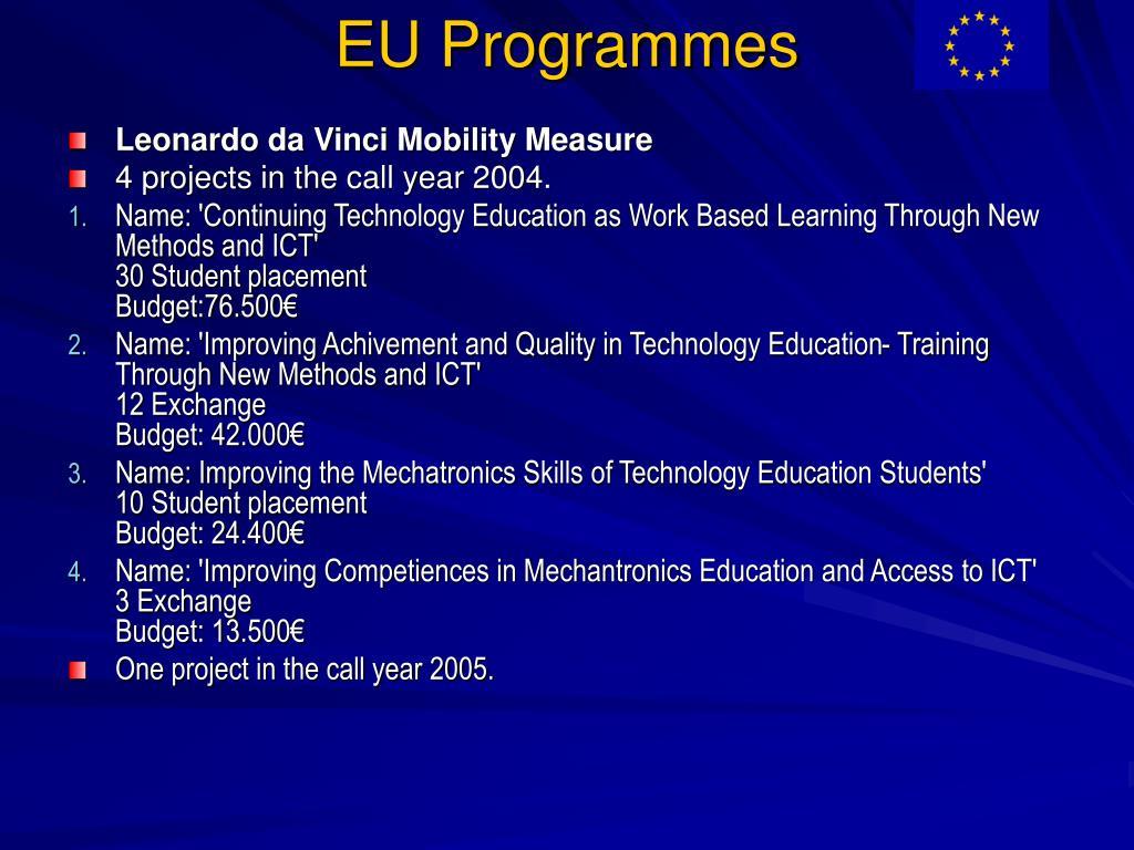 EU Programmes