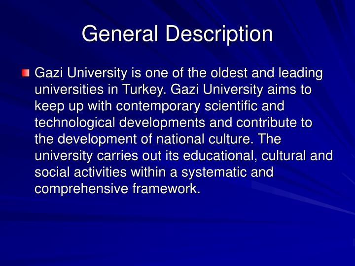 General description3