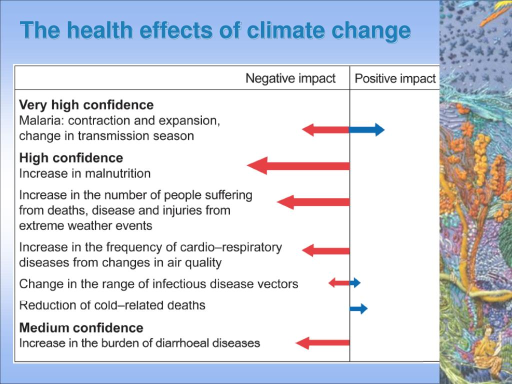 The health effects of climate change