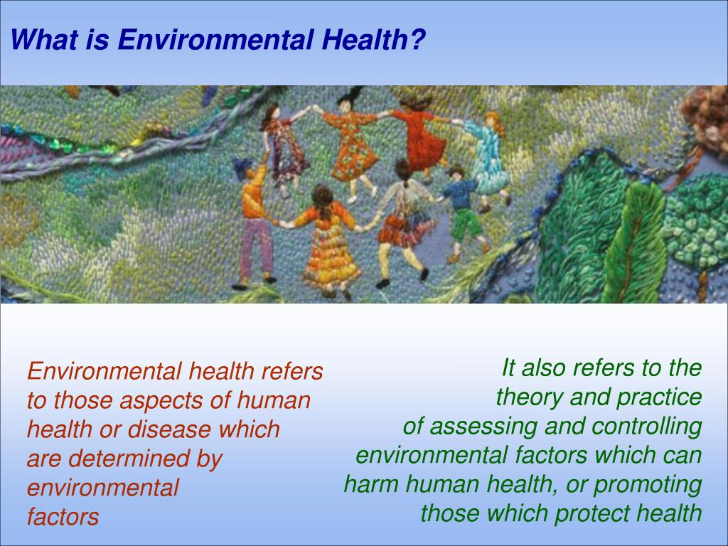 What is Environmental Health?
