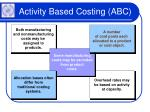 activity based costing abc7