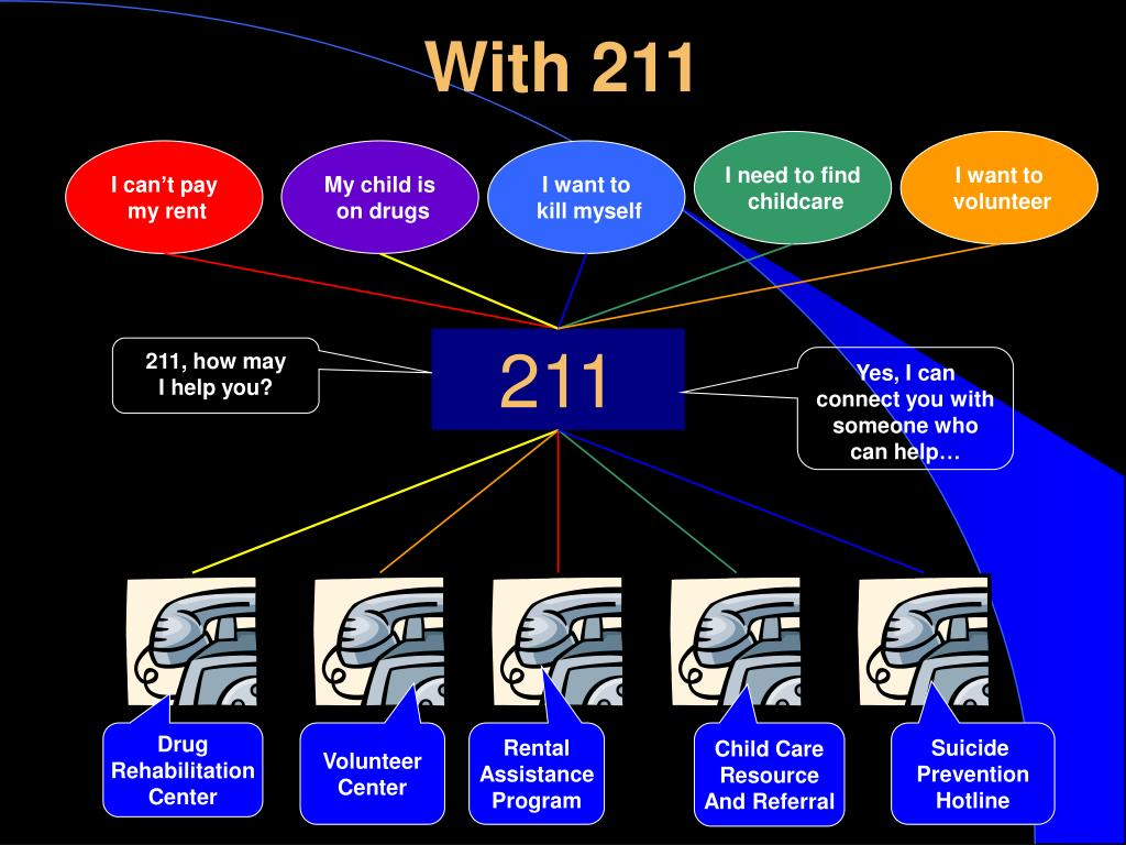 With 211