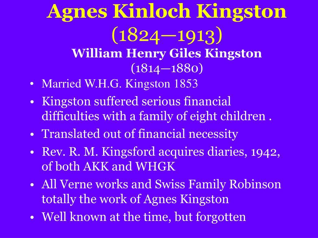 Agnes Kinloch Kingston