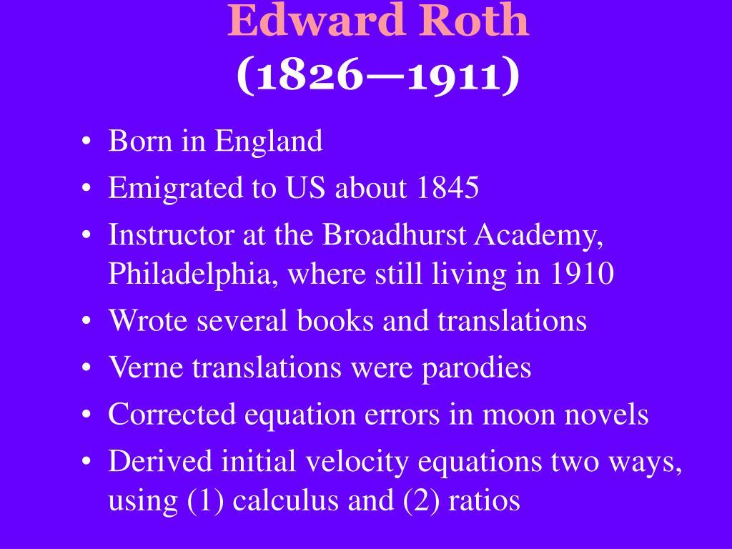 Edward Roth
