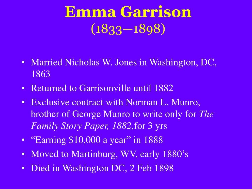 Emma Garrison