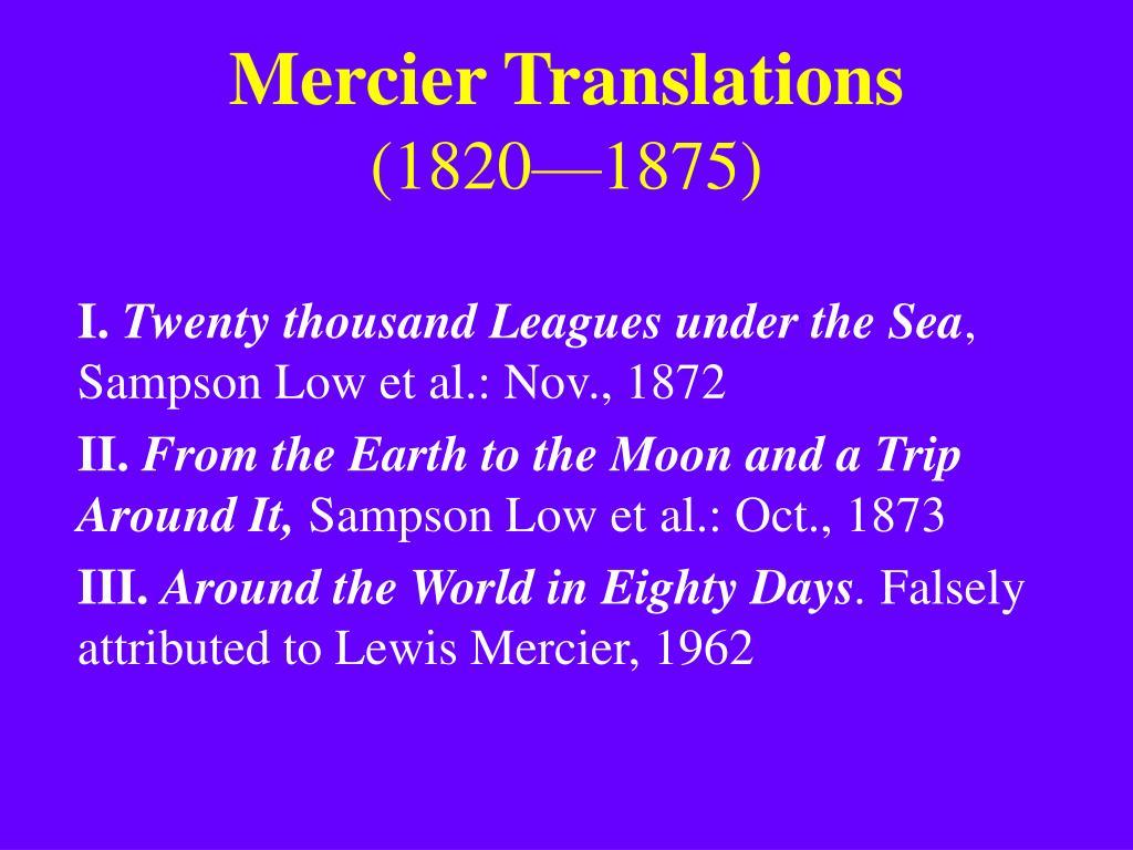 Mercier Translations