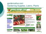 gardensalive com gardening supplies lawns plants