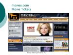 movies com movie tickets