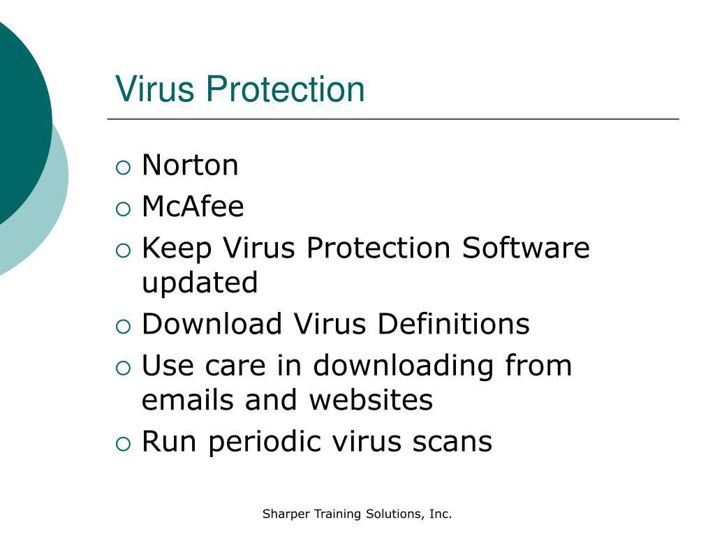 Virus Protection