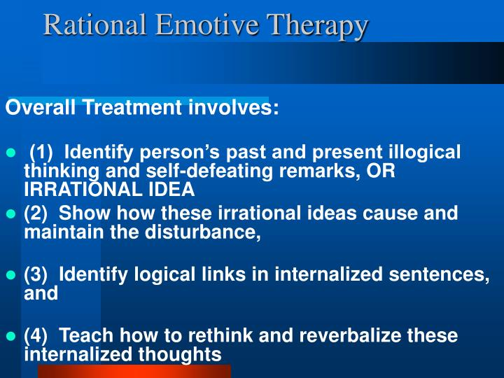 Rational Emotive Therapy