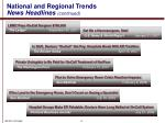 national and regional trends news headlines continued