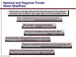 national and regional trends news headlines