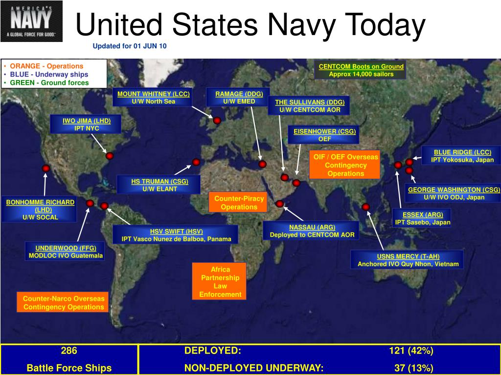 United States Navy Today
