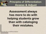 assessment always has more to do with helping students grow than with cataloging their mistakes