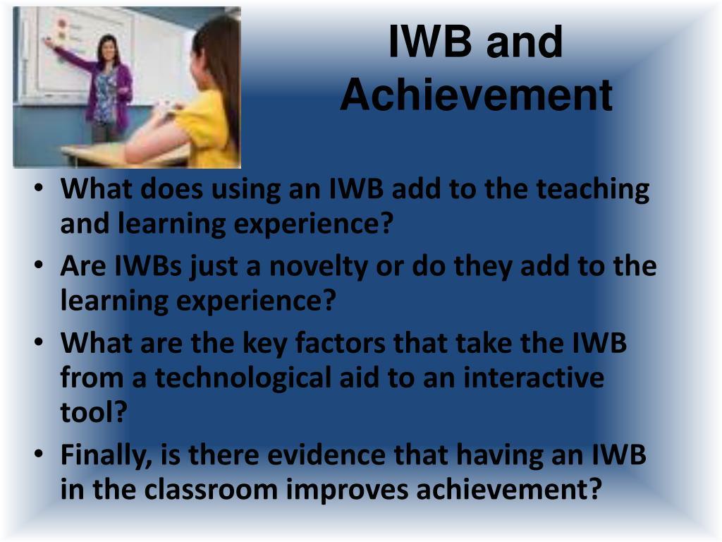 IWB and Achievement