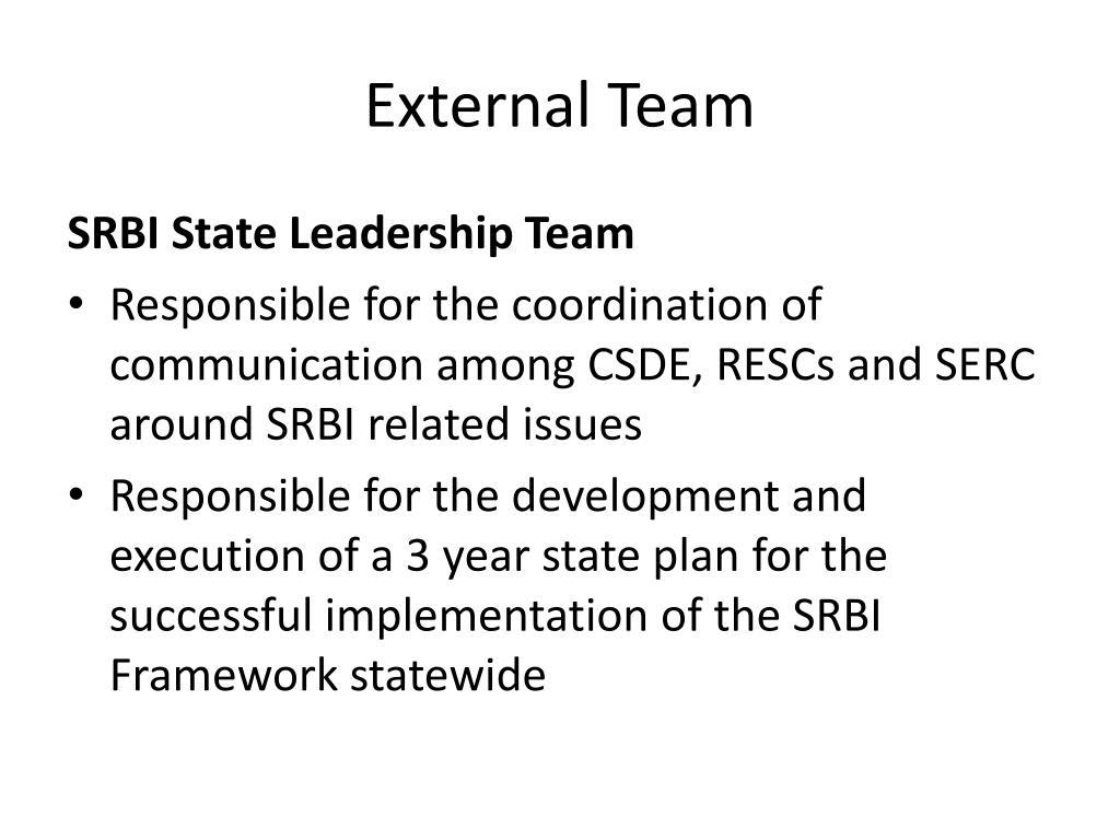 External Team