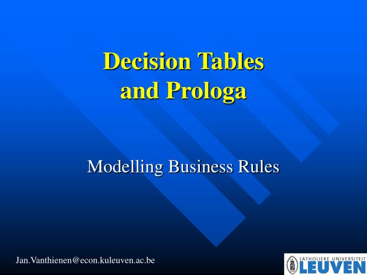 m odelling business rules n.