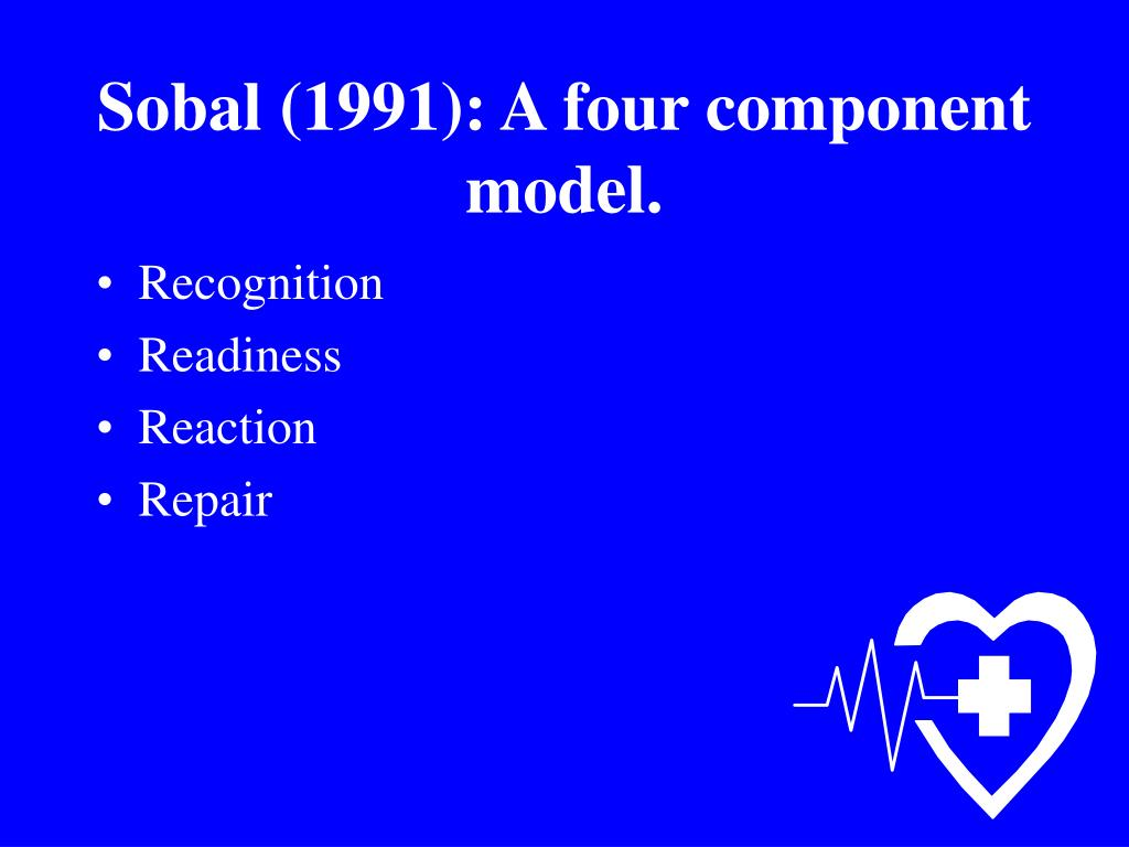 Sobal (1991): A four component model.