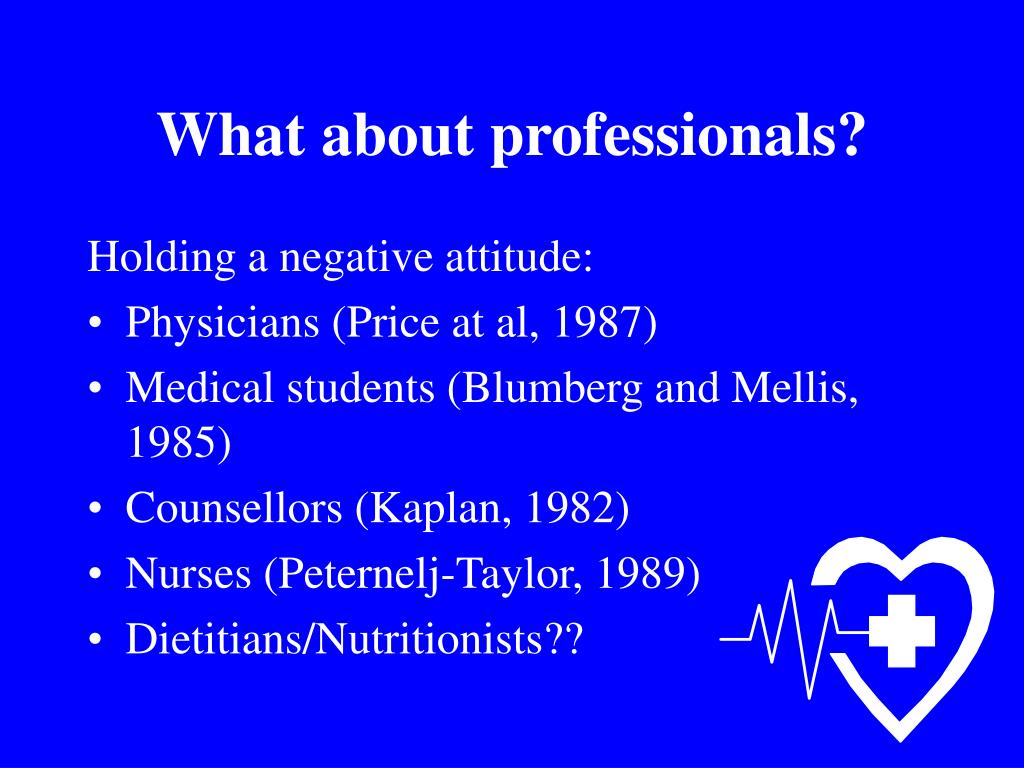 What about professionals?