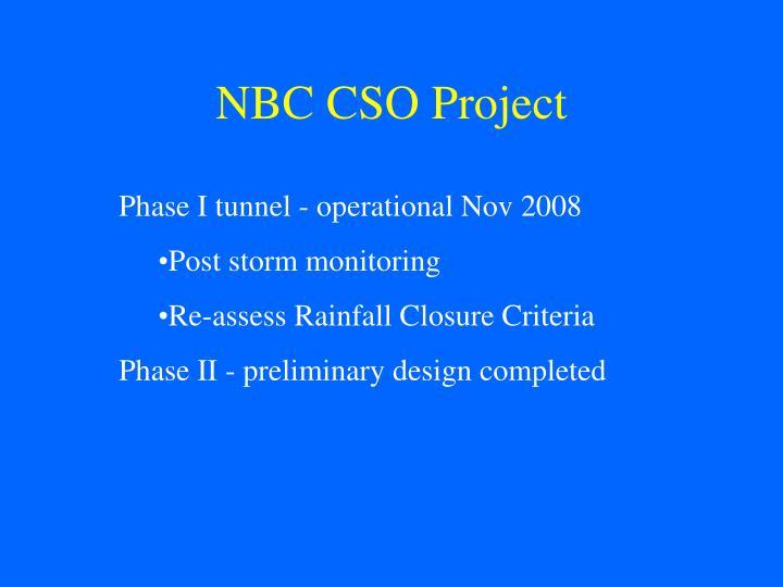 Nbc cso project