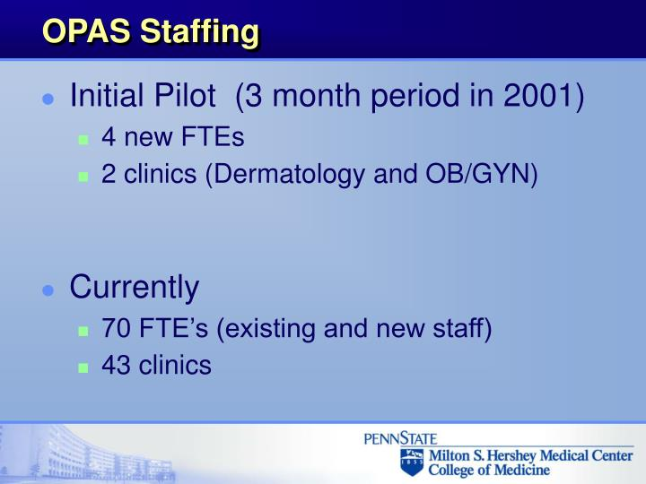 OPAS Staffing