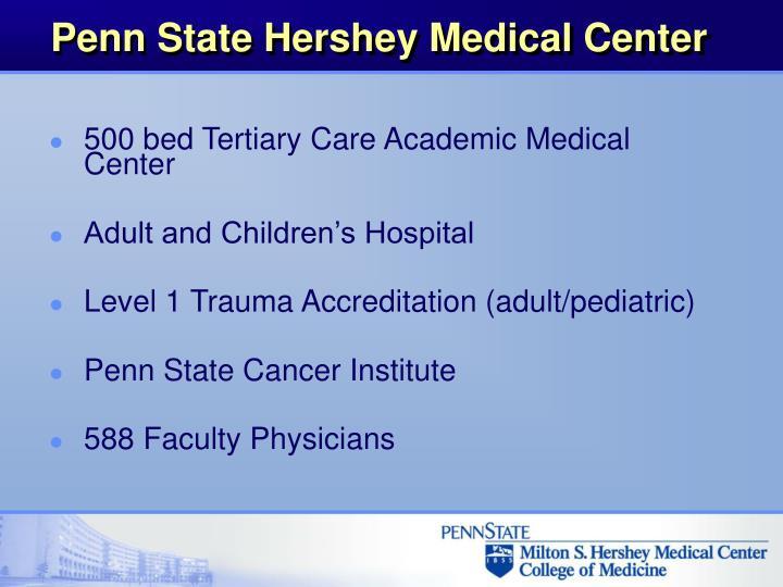 Penn state hershey medical center1